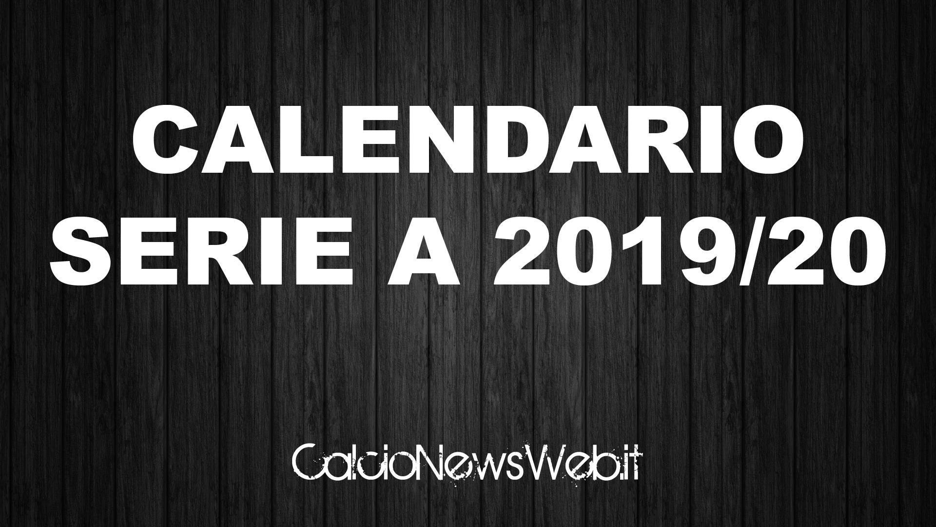 Sorteggio Calendario Serie A Inizia La Diretta Streaming Siamo Live Calcionewsweb It